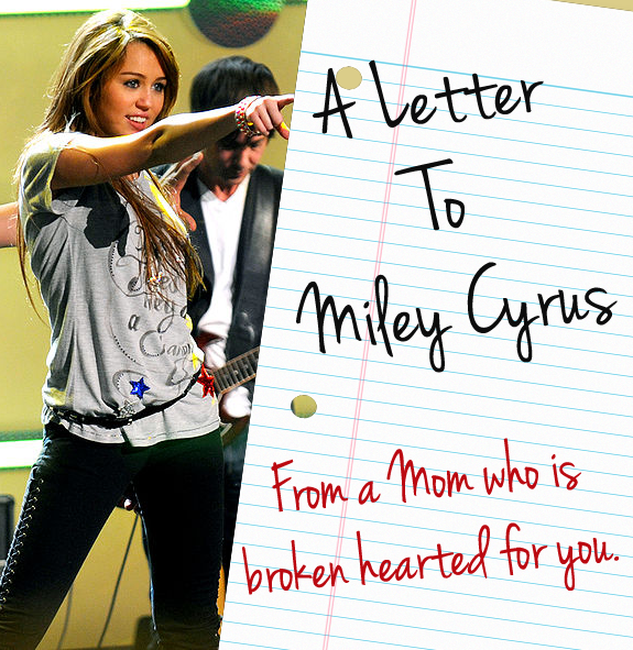 A letter to Miley Cyrus