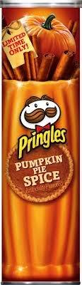 pumpkin pie spice pringles