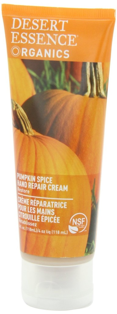 pumpkin spice hand cream