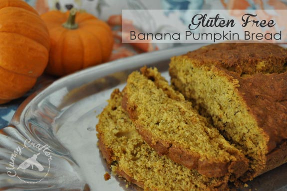 Gluten Free Pumpkin Banana Bread — Clumsy Crafter