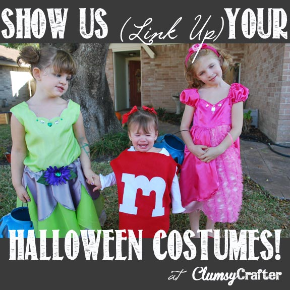Come show us (link up) your family's Halloween Costumes!
