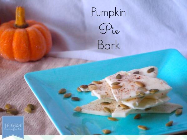Pumpkin Pie Bark - The Perfect Mix of Sweet and Salty
