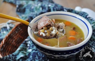Sausage Lentil Rice Soup Recipe