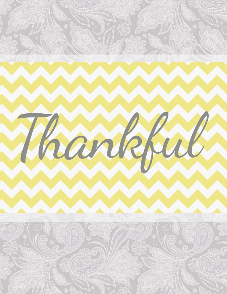 Thankful Free Printable 791x1024 Thankfulness