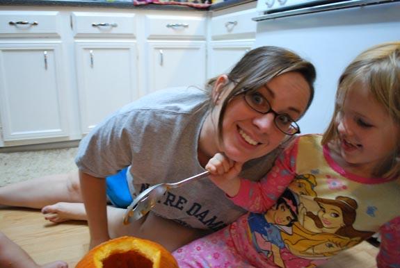 grace mom pumpkins blog