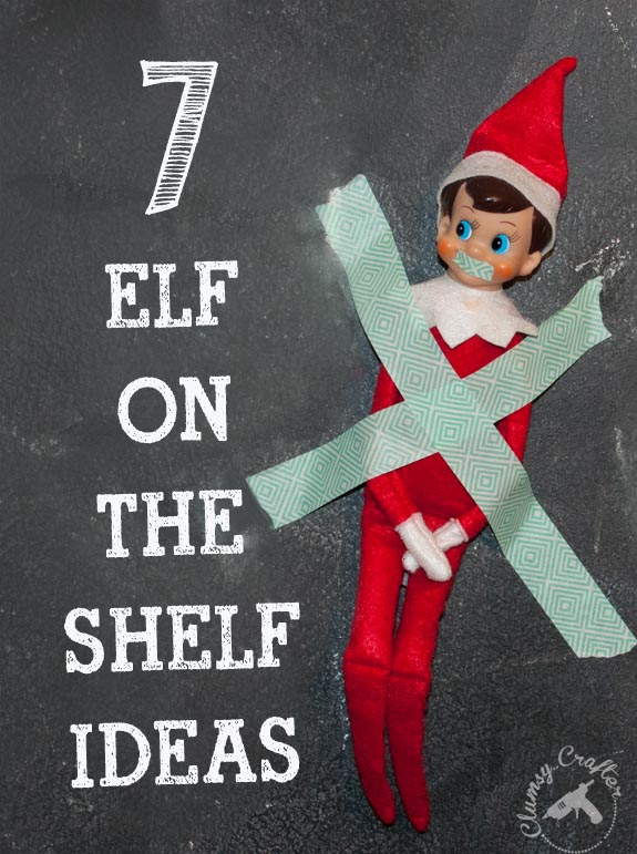 7 Elf on the Shelf Ideas 7 Elf on the Shelf Ideas