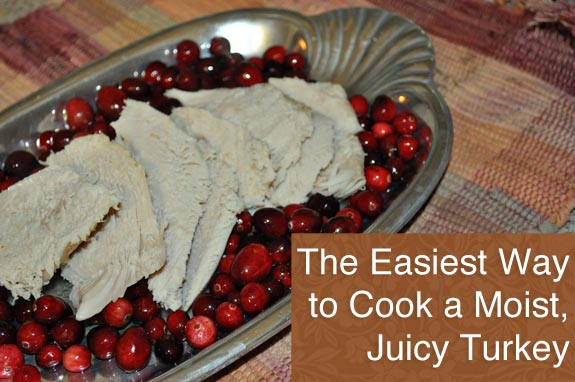 The easiest way to cook a moist, juicy turkey! So easy and you don't have to brine it!