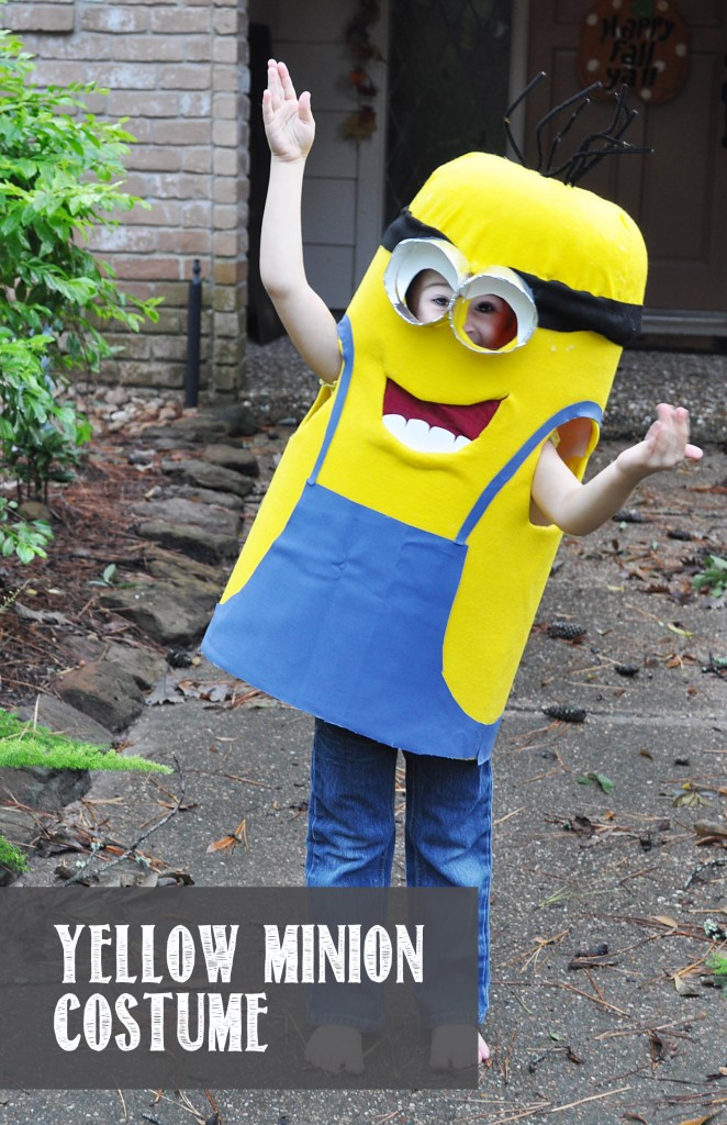 Yellow Minion Costume