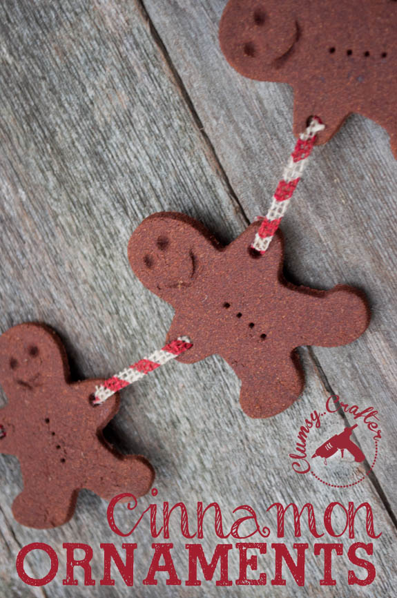 Cinnamon Gingerbread man garland