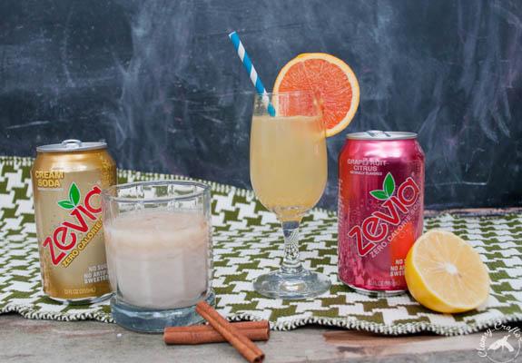 Easy Cocktails with Zevia Soda