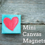 Mini Canvas Magnets great gift to those you love from ClumsyCrafter  150x150 Crafts