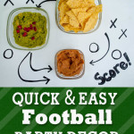 Quick and Easy football party decor 150x150 Crafts