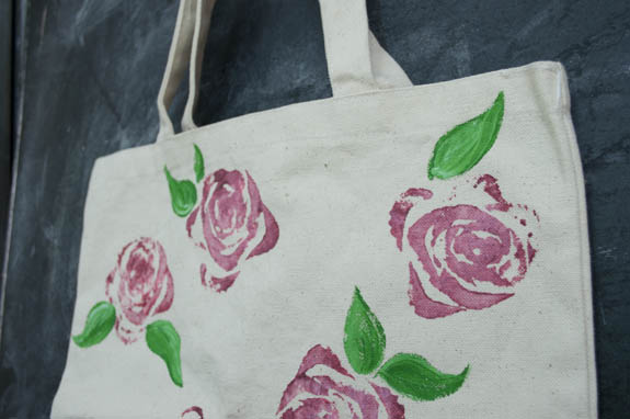 Celery roses from Clumsy Crafter