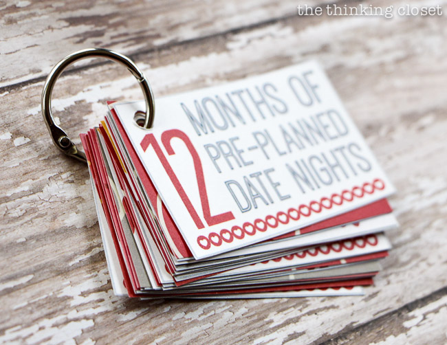 12 Months of Date Nights for Valentine's Day