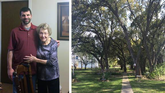 Damion and grandma