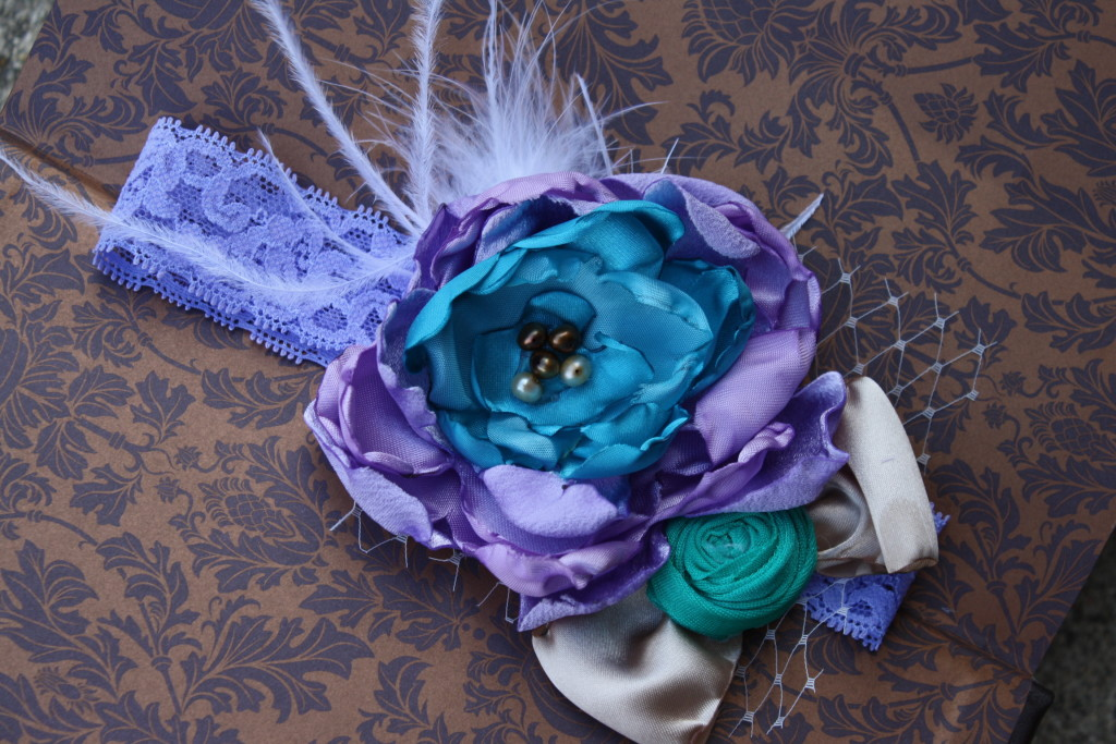 Victoria Kate Boutique on Etsy - great place to find hair accessories for little girls