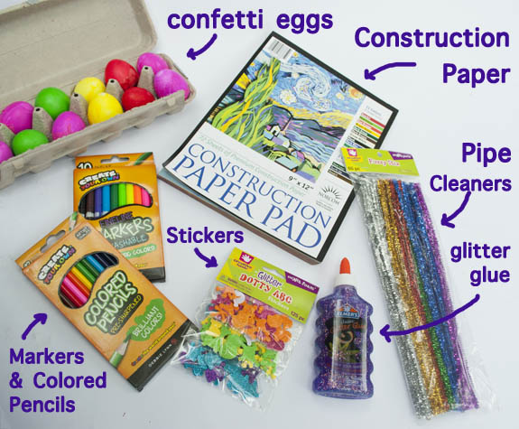 What to put in an Easter Basket for creative kids