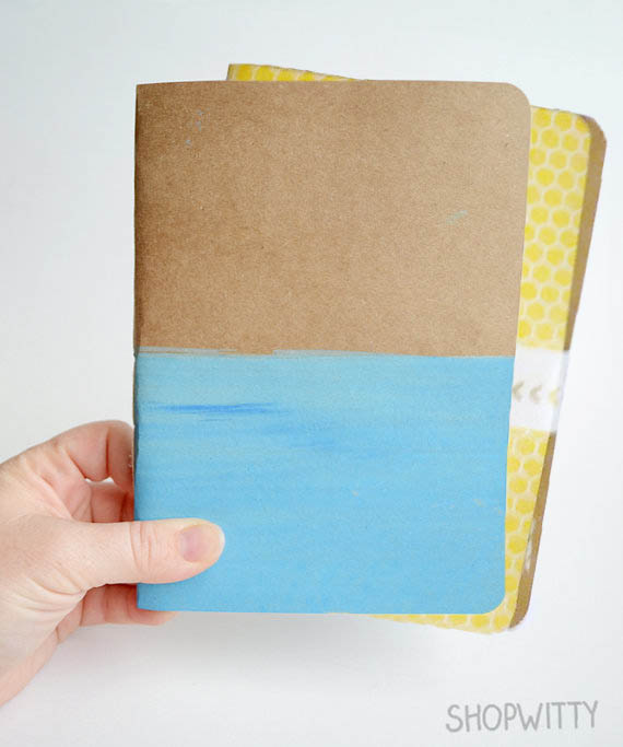 handstitched notebook giveaway