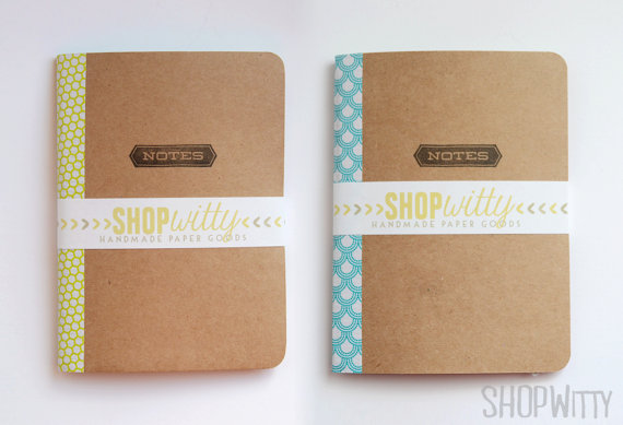 Hand bound notebooks - gorgeous!