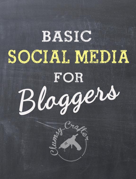 basic social media for bloggers