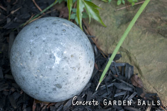 How to make a garden ball Clumsy Crafter
