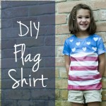 DIY Flag Shirt for USA 150x150 Crafts