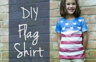 DIY Flag T-shirts!