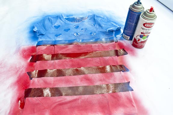 DIY USA Shirt
