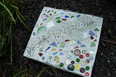 How To Make Your Own Stepping Stones Clumsy Crafter