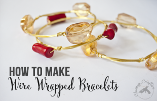How to Make Wire Wrapped Bracelets