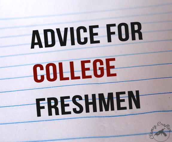Advice For The College Bound Clumsy Crafter