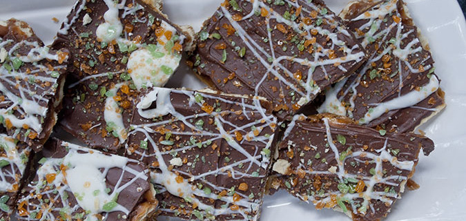 Fall for Fall Toffee? Christmas Crack With a Twist.