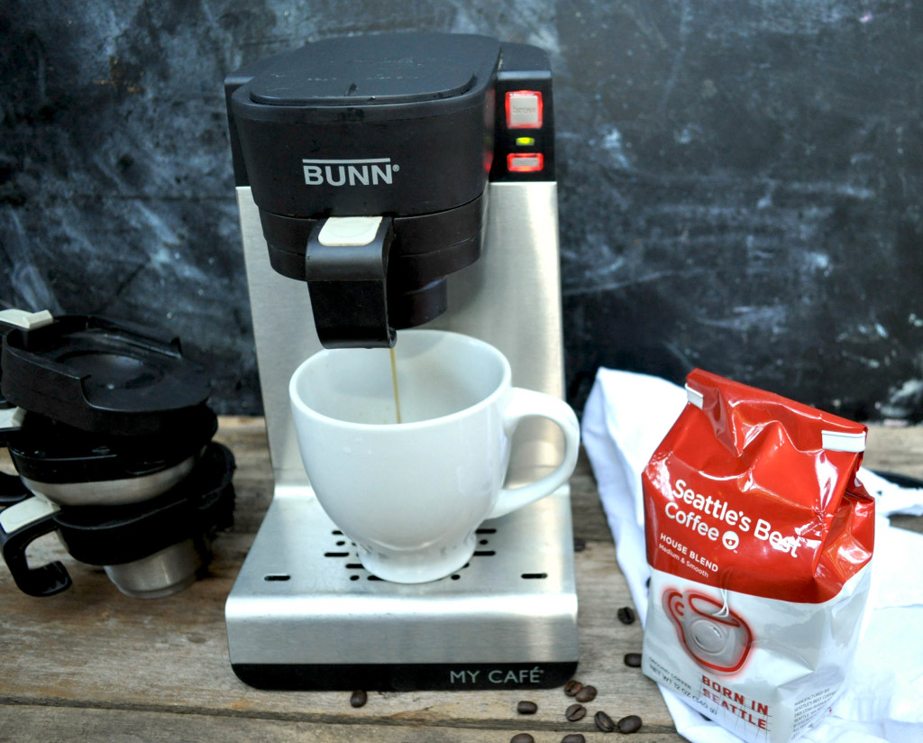 Bunn My Cafe one cup coffee maker
