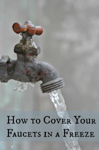 How to protect your outdoor faucets from freezing