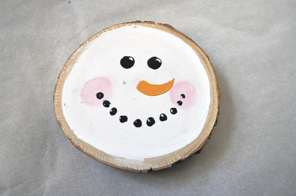 easy snowman craft idea