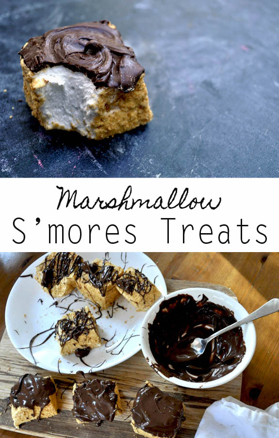 homemade marshmallows s'more treats - yummy and the perfect gift