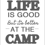 life is good but its better at the camp 150x150 Crafts