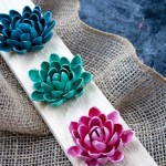How to make Flowers out of shells 150x150 Crafts