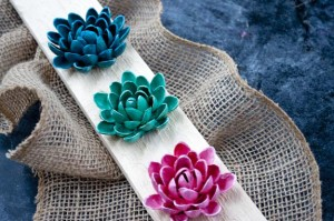 How to make Flowers out of shells