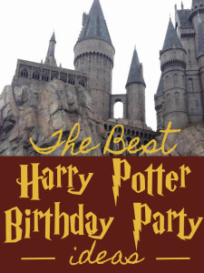 The Best Harry Potter Birthday Ideas! Throw and amazing party in the Harry Potter Style