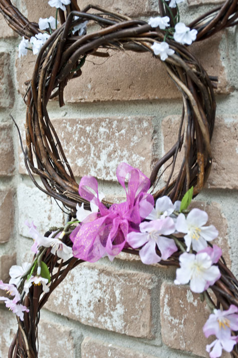 Easter Bunny Wreath that you can make at home