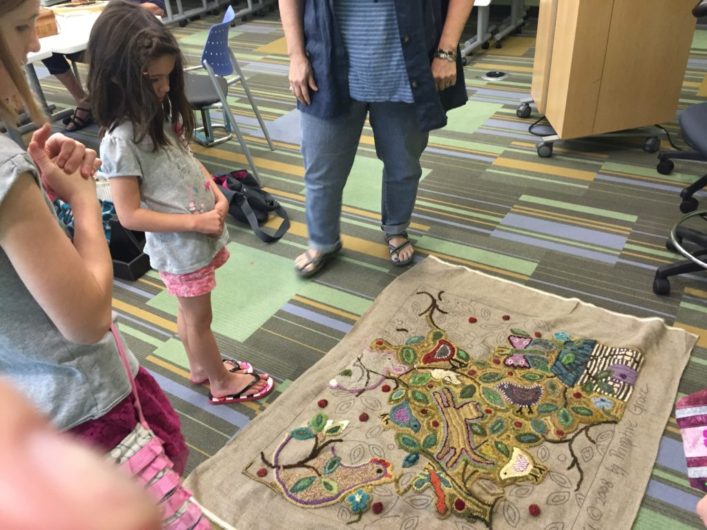 crafts at library