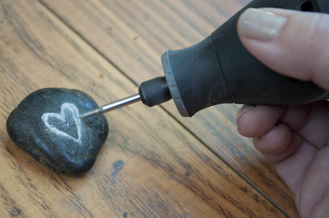 How to carve rocks using a dremel tool