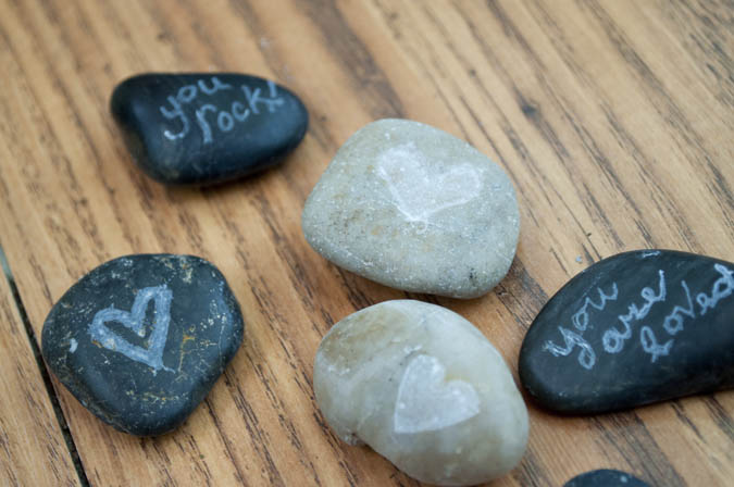 how to carve rocks - cute gifts or use for random acts of kindness