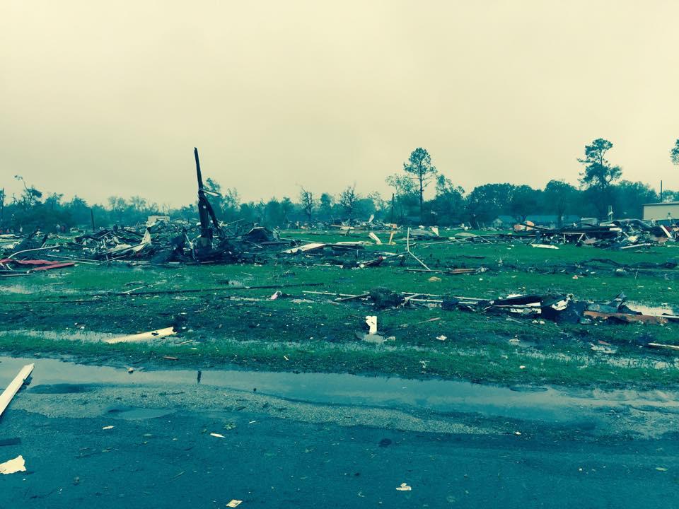 Van, Texas Tornado