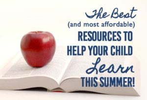 Affordable (Or Free!) Educational Worksheets And Activities For Your Child This Summer!