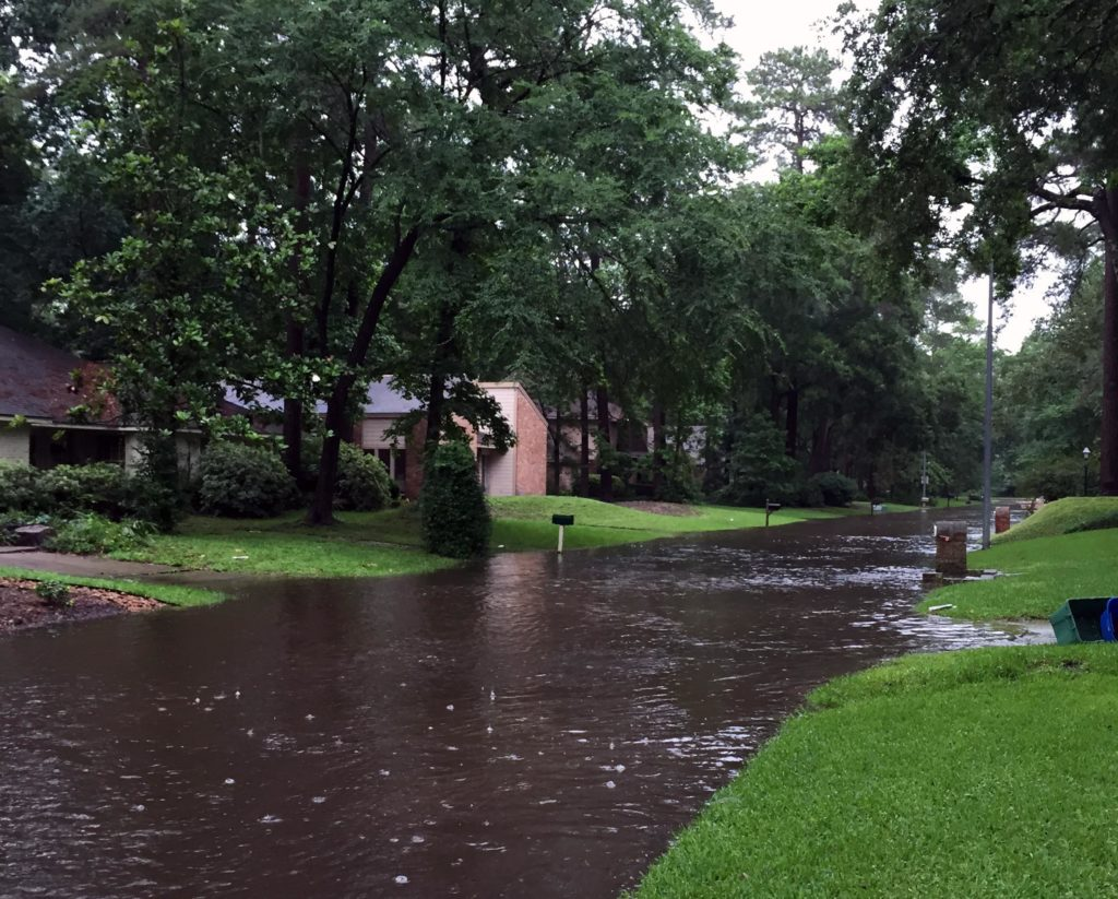 houston flooded streets