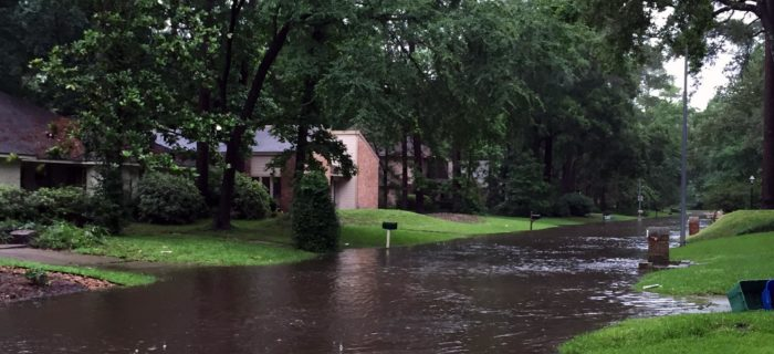 houston flooded streets