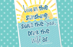 Summer Is Here! Let's Celebrate with a Free Printable!
