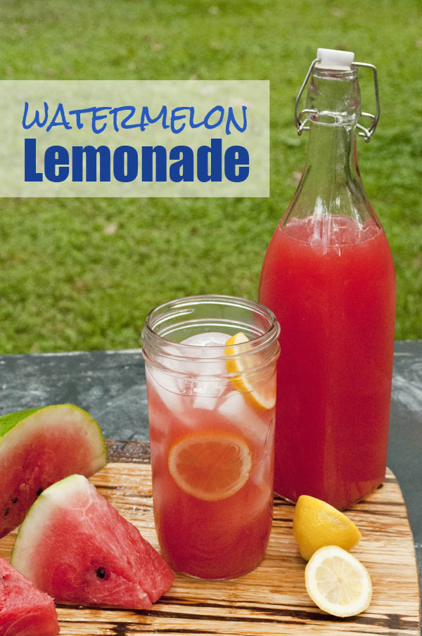 Easy and Quick Watermelon Lemonade recipe